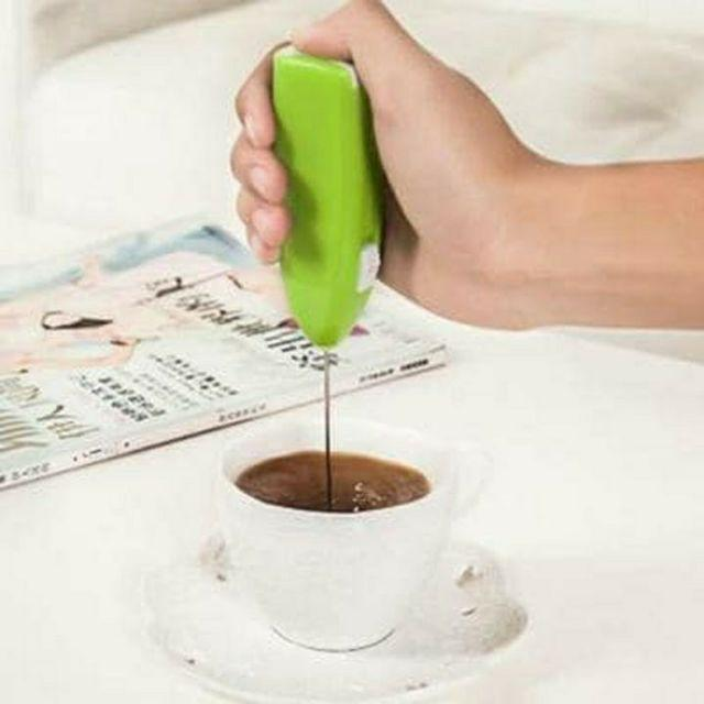 Máy đánh trứng,tạo bọt cà phê cầm tay mini