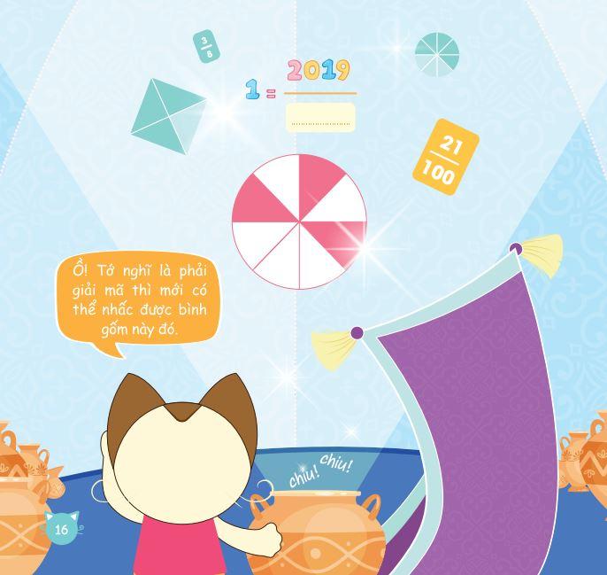 Bộ 4 cuốn Happy family Cùng con phát triển năng lực Toán lớp 5 tập 1