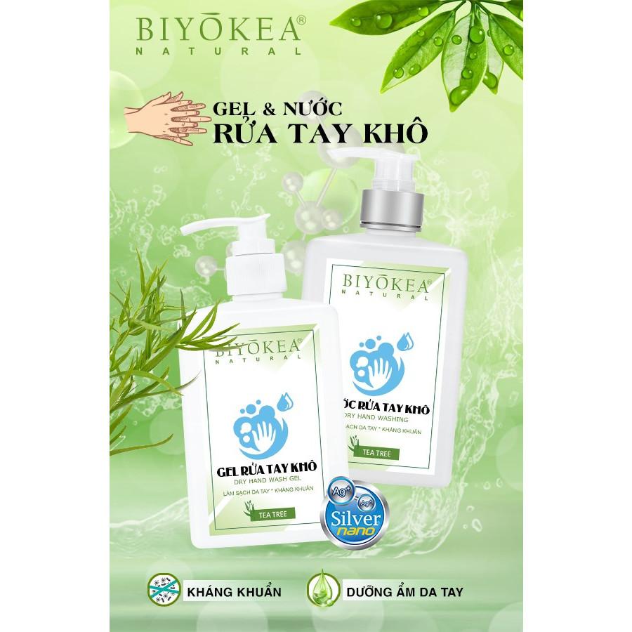 Nước Rửa Tay Khô BIYOKEA - 500ml