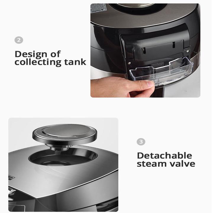 Nồi cơm điện đa năng cao cấp DSP KB5007 công suất 900W, tích hợp 15 chức năng nấu cùng chế độ giữ nóng lâu - Hàng Nhập Khẩu