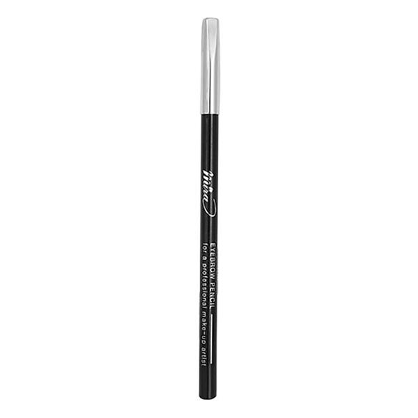 Chì vẽ mày Mira Eyebrow Pencil Hàn Quốc No.14 Black tặng kèm móc khoá