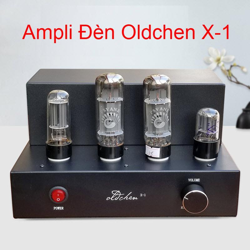 Ampli đèn EL34 X-1 hãng Oldchen công suất 8w/1 kênh chất âm mềm mại - chi tiết AnZ
