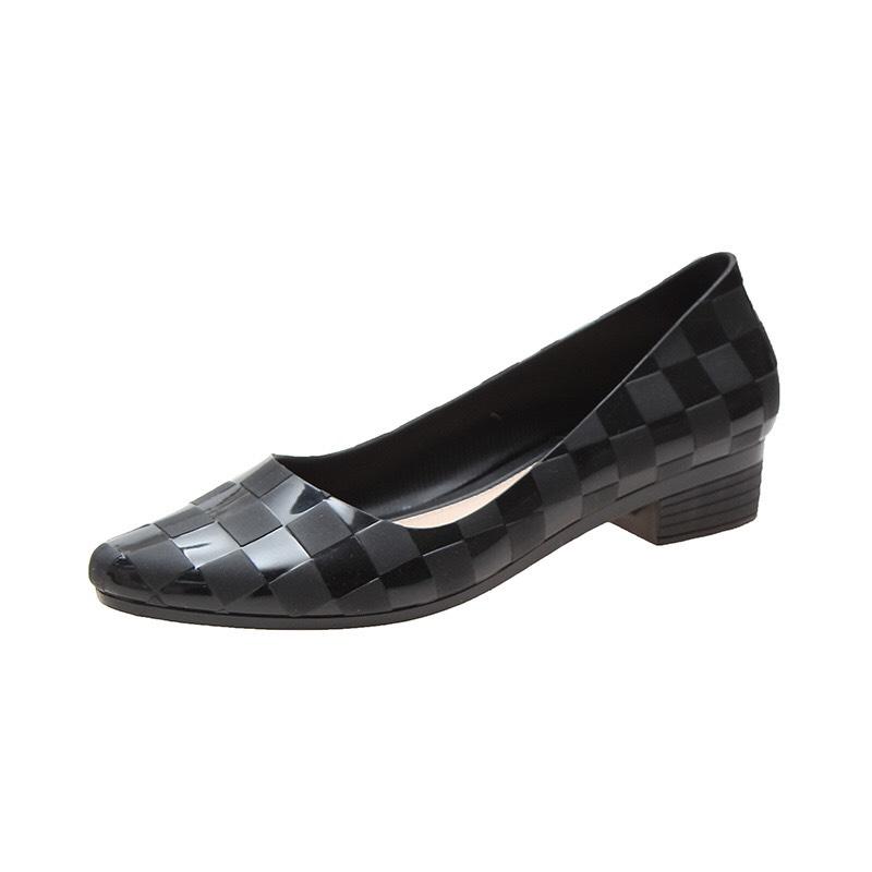 Giày nhựa cao su cao cấp bền đẹp đi nước thoải mái đế 3cm hàng chuẩn loại 1 GN7