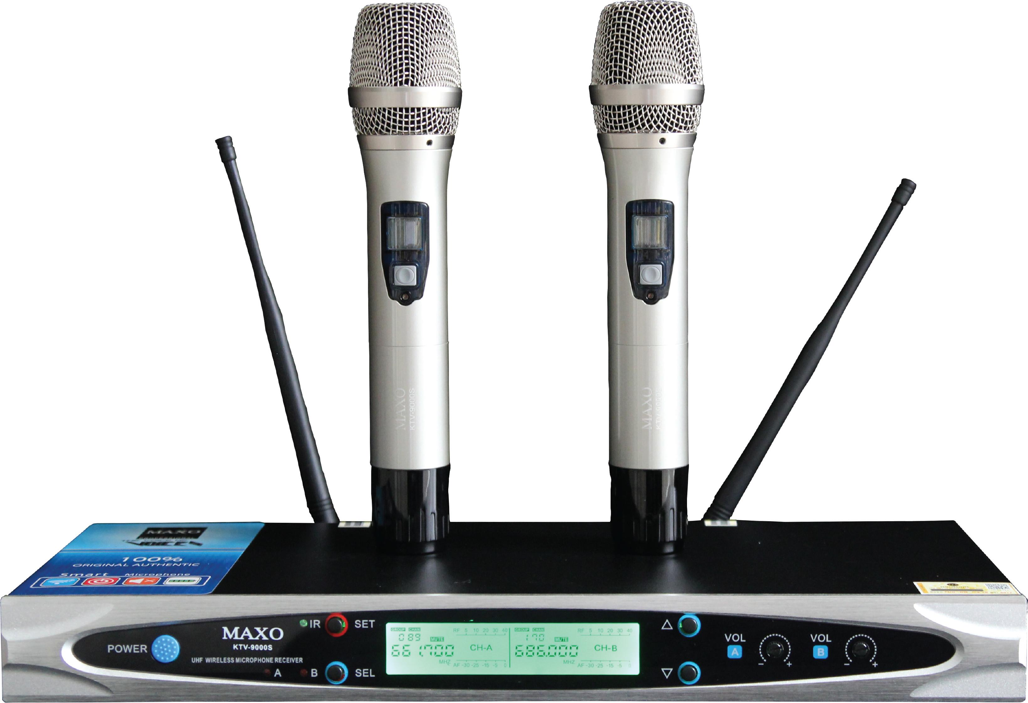 MICRO KHÔNG DÂY CAO CẤP KTV-9000S- HÀNG NHẬP KHẨU