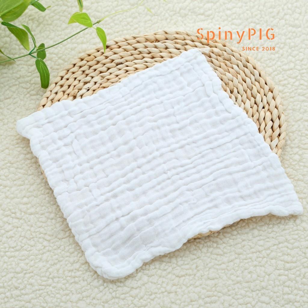 Set 5 chiếc khăn xô sữa cho bé 6 lớp 30x30cm sợi tre đa năng siêu mềm và siêu thấm
