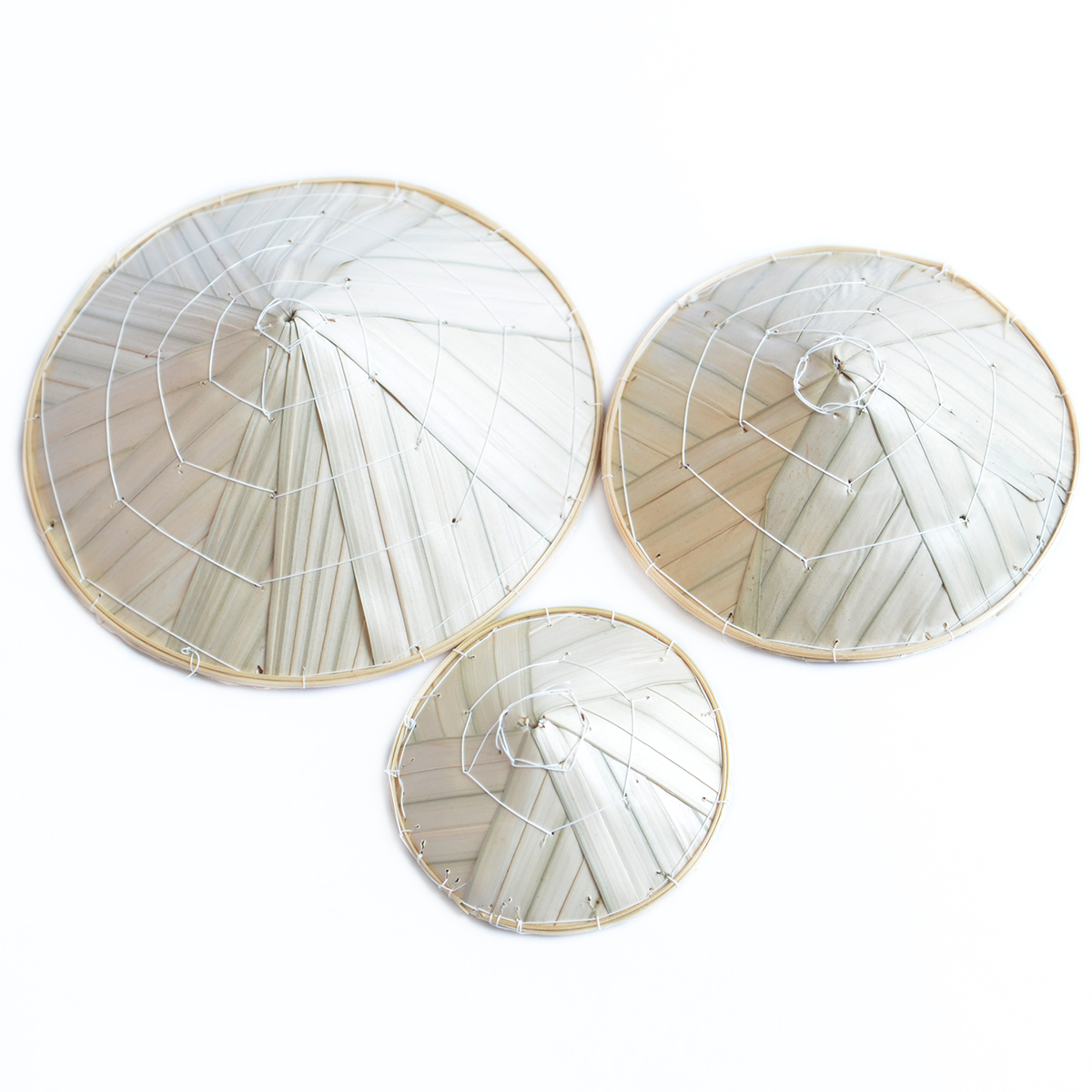 Bộ 3 nón lá imFRIDAY VNL4 (5 - 7 - 9 cm)
