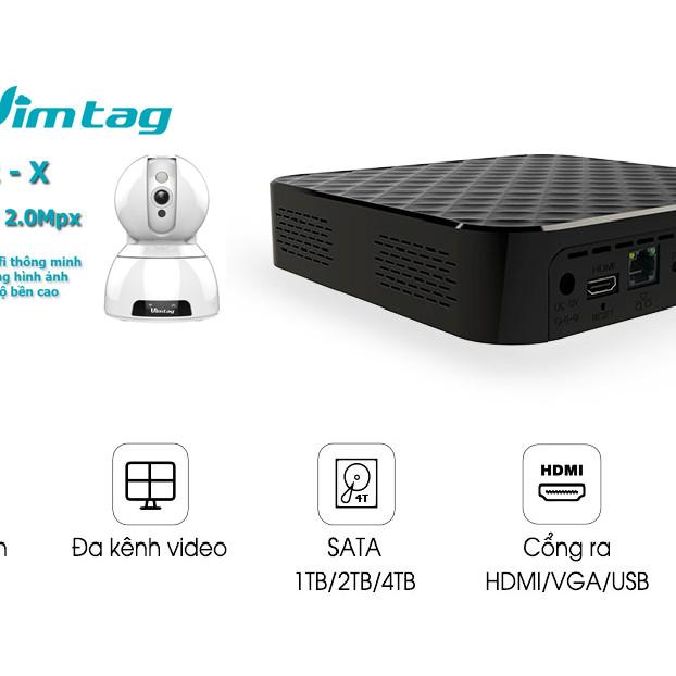 Đầu Ghi Cloud Box S1 Cao cấp cho Camera Vimtag USA - Hàng nhập khẩu