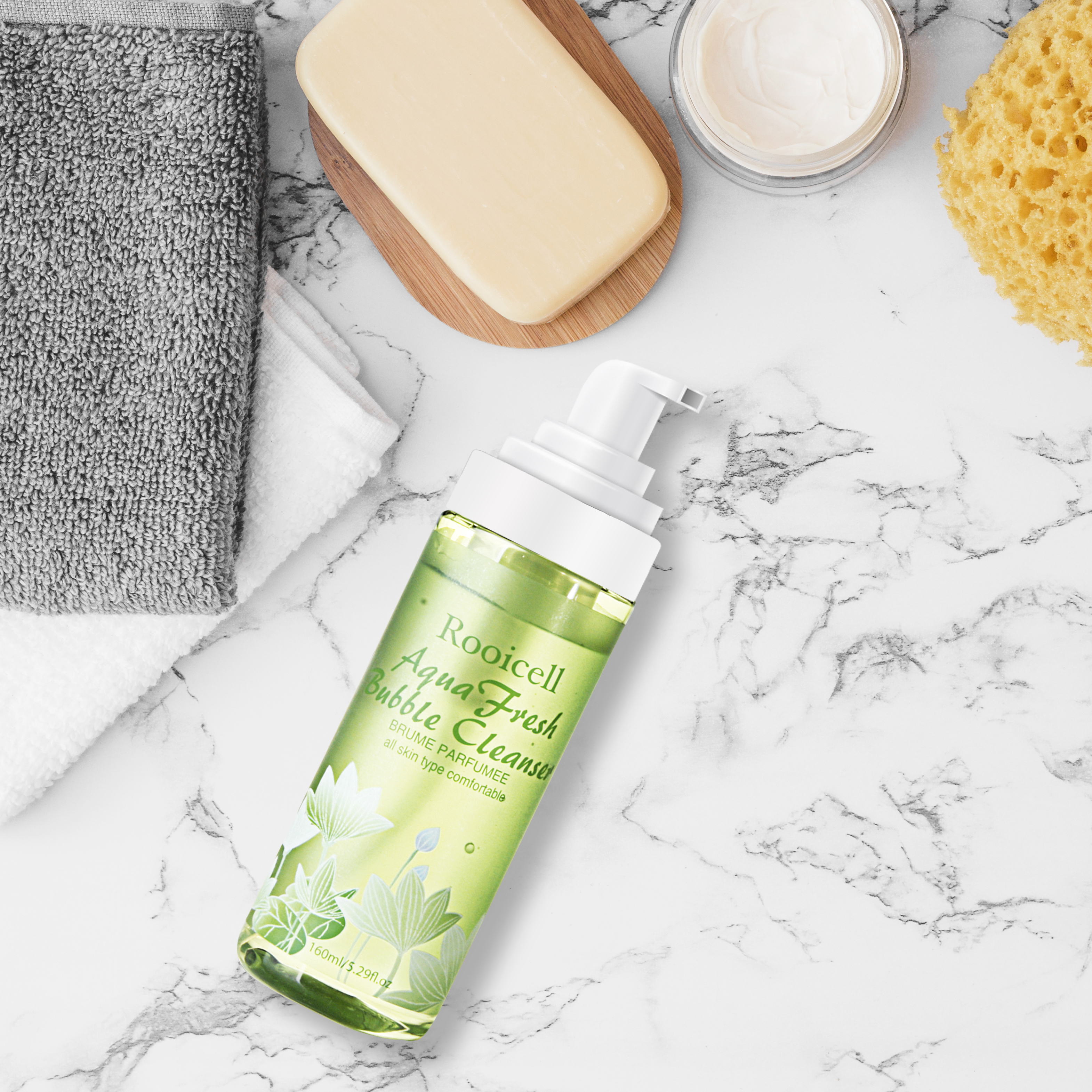 Sữa rửa mặt làm sạch sâu Aqua Fresh Bubble Cleanser