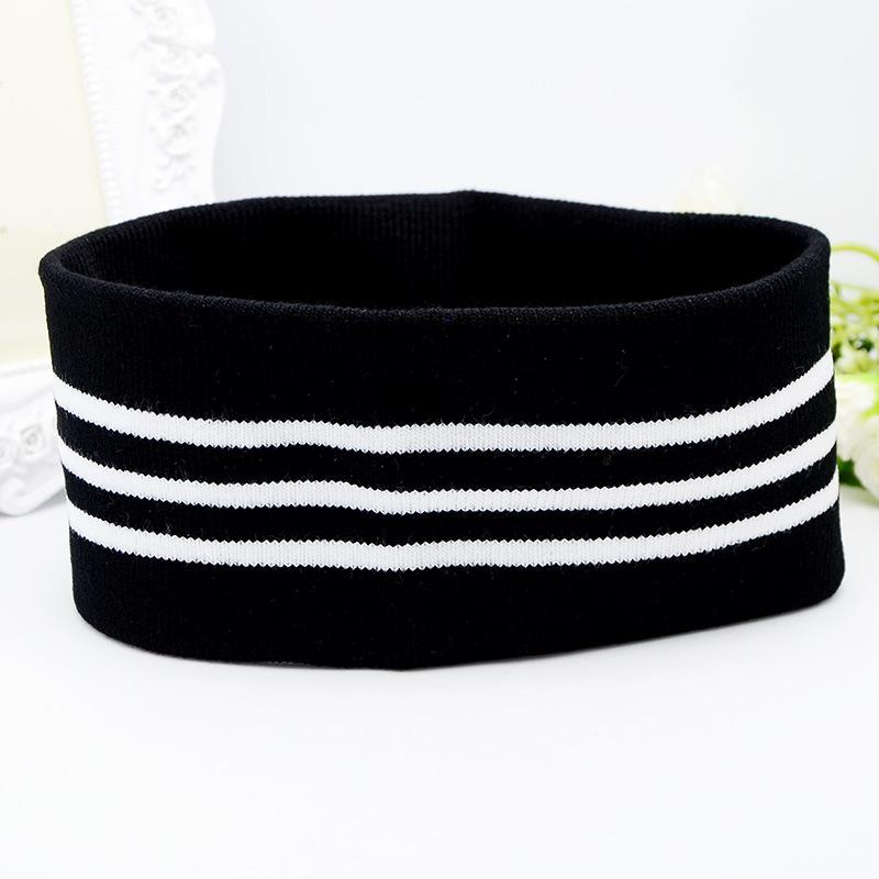 Băng đô thể thao dệt kim bản to - Băng đô headband Kpop, Cpop - BTS mã TB02