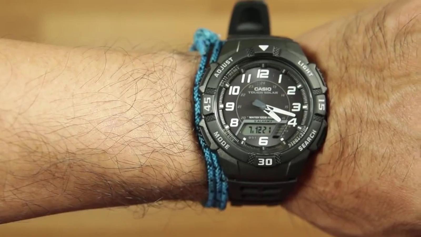 Đồng hồ nam dây nhựa Casio AQ-S800W-1BVDF
