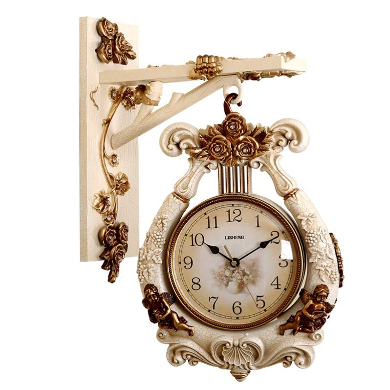 Đồng Hồ Treo Tường xoay 360 độ DHTT16 Thiết kế đồng hồ xoay thông minh có thể xem giờ được ở cả 2 mặt.