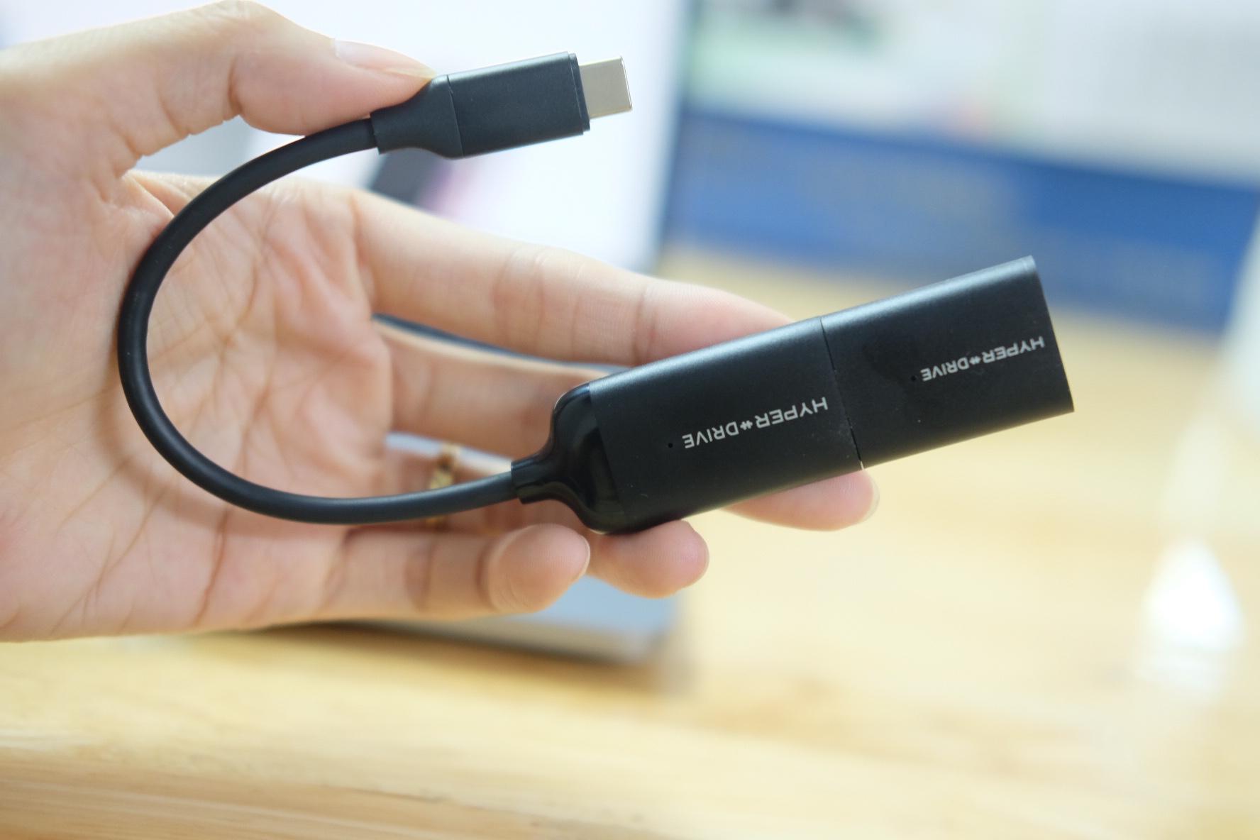 Cổng Chuyển HyperDrive USB-C to 4K60Hz HDMI & Mini DisplayPort (HD40C)- Hàng chính hãng