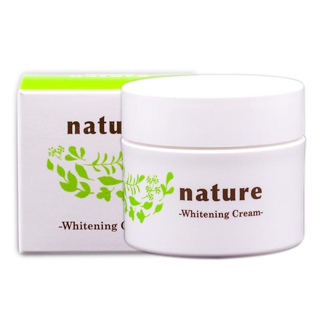 Kem dưỡng làm trắng da ban đêm Nature Whitening Cream Nhật Bản 50g + Móc  khóa | Tiki.vn