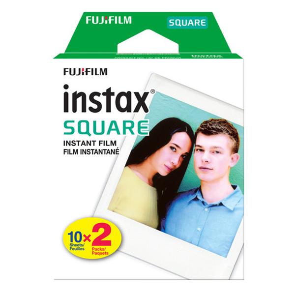 Hộp Phim Fujifilm Instax Mini Square (20 Tấm) - Hàng Chính Hãng