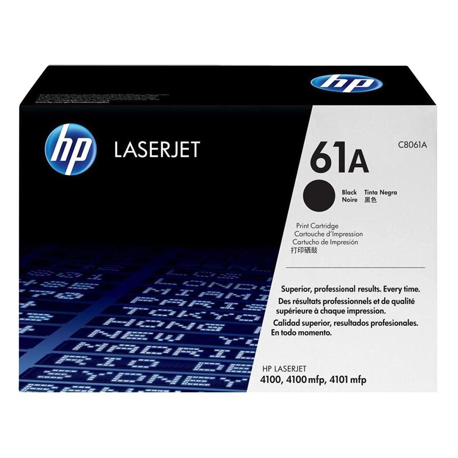 Mực In HP C8061A (HP 61A) Cho Máy In HP 4100, HP 4100MFP, HP 4101 - Hàng chính hãng