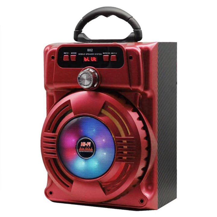 Loa Bluetooth Karaoke JHW-802 - Hàng nhập khẩu