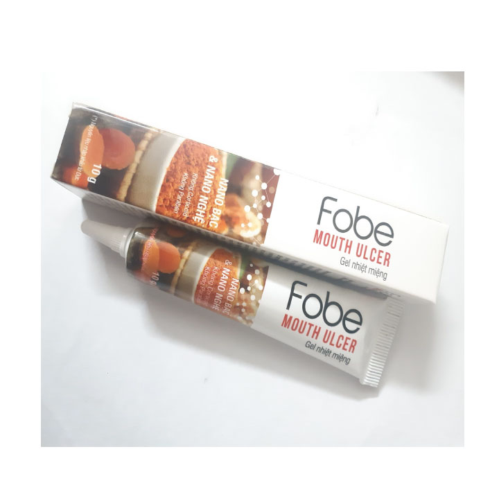 Gel nhiệt miệng Fobe Mouth