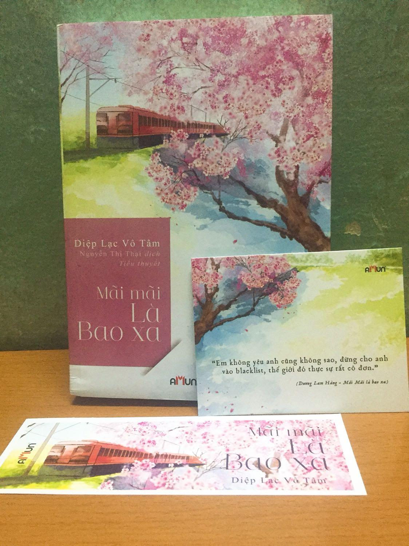 Mãi Mãi Là Bao Xa (Top Sách Ngôn Tình Hay Nhất Của Diệp Lạc Vô Tâm) - Tặng Kèm Bookmark Happy Life