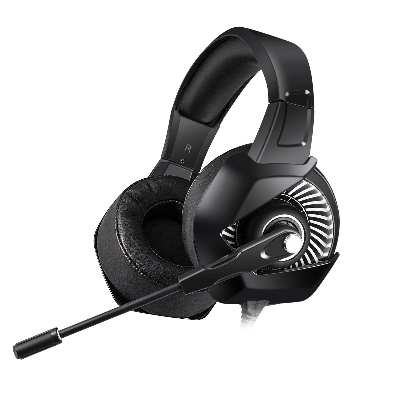 Tai Nghe Chơi Game ONIKUMA K6 Có Led RGB, Microphone (Headphone Gaming E-sports) - Hàng nhập khẩu