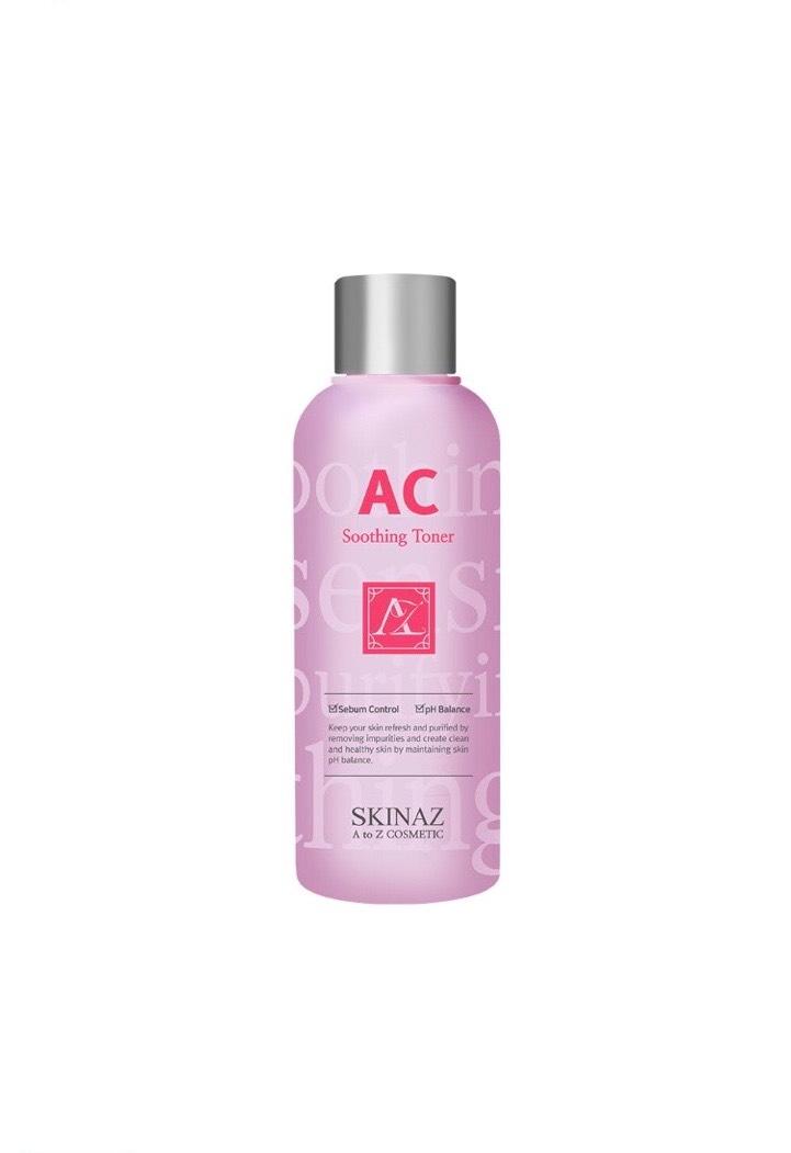 Nước hoa hồng AC Skinaz Hàn Quốc mẫu 2020 (180ml)