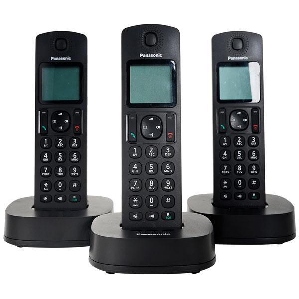Điện thoại bàn không dây Panasonic KX-TGC313 - Hàng Chính Hãng