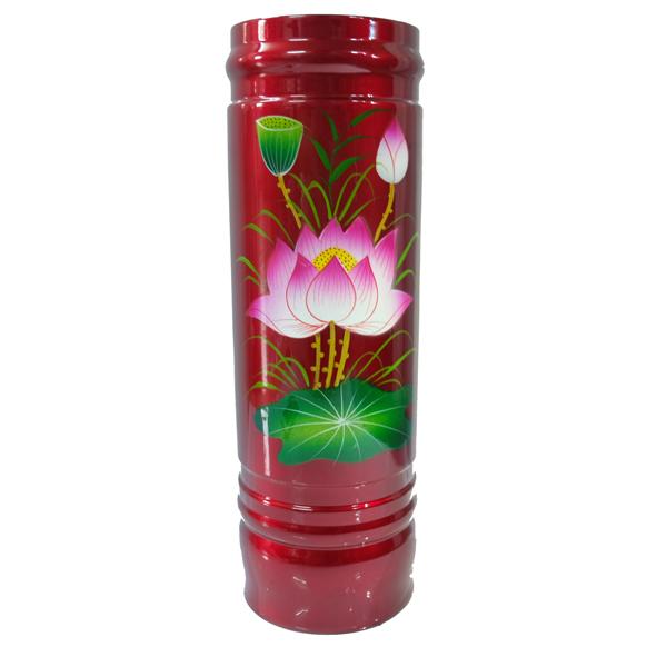 Ống đựng nhan hoa sen PT0185 8cm x 8cm x 26cm