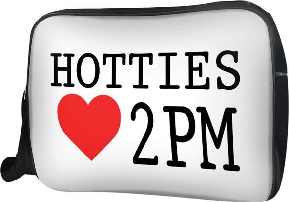 Túi Đeo Chéo Hộp Unisex Hotties Love 2Pm - Tckk047 34 x 9 x 25 cm