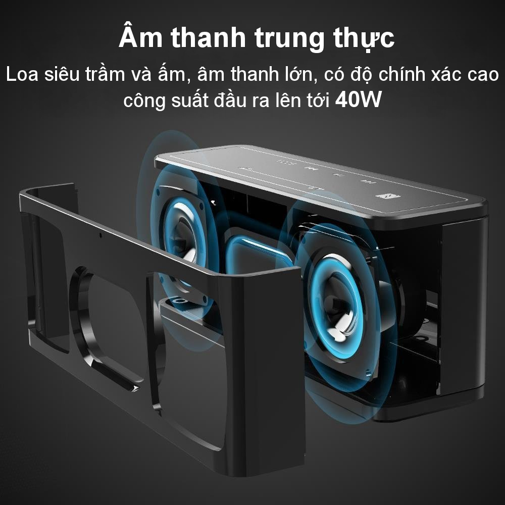 Loa Bluetooth công suất 40W, Pin 15h TRONSMART Element Mega - Hàng chính hãng