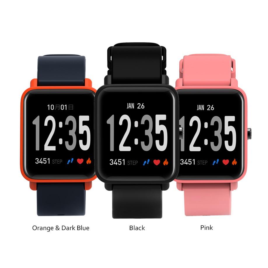 Đồng hồ thông minh Doric đo nhịp tim, huyết áp, nồng độ oxy (Hồng) - Hàng chính hãng