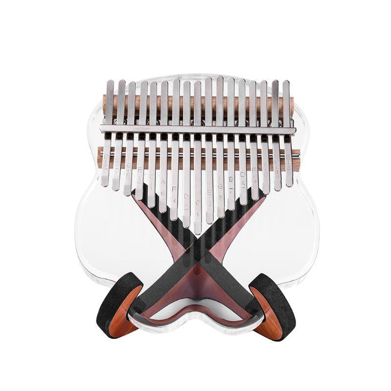 Đàn kalimba 17 phím pha lê nguyên khối IME-08512 đầy đủ phụ kiện túi chống sốc, búa chỉnh âm, stick dán màu, khăn lau. Tặng Đàn Kalimba 17 phím gỗ nguyên khối Mahagony PJLIM72