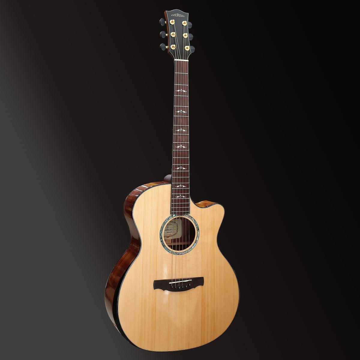 Đàn Guitar Acoustic E100LMT Chất Lượng Cao (Full Solid)