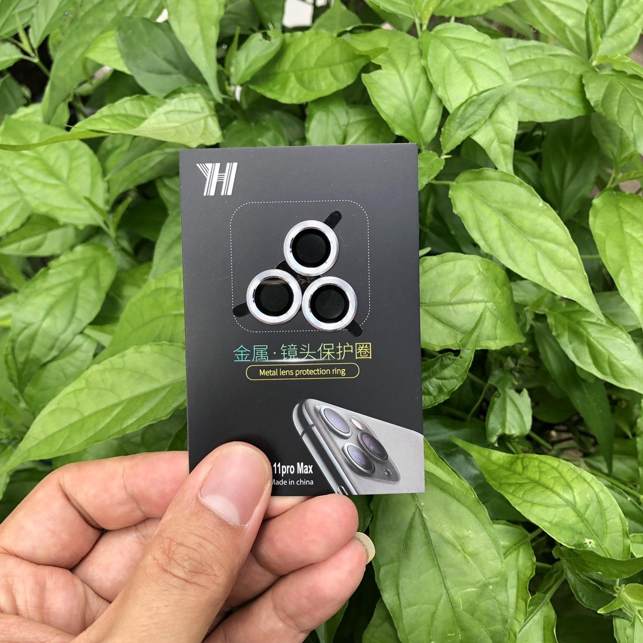 Bộ 3 Vòng Bảo Vệ Camera Dành Cho IPhone 12Pro - Chống Bụi, Hạn chế vân tay & Mờ Camera - Bảo Vệ Toàn Diện Cho Dế Yêu Của Bạn