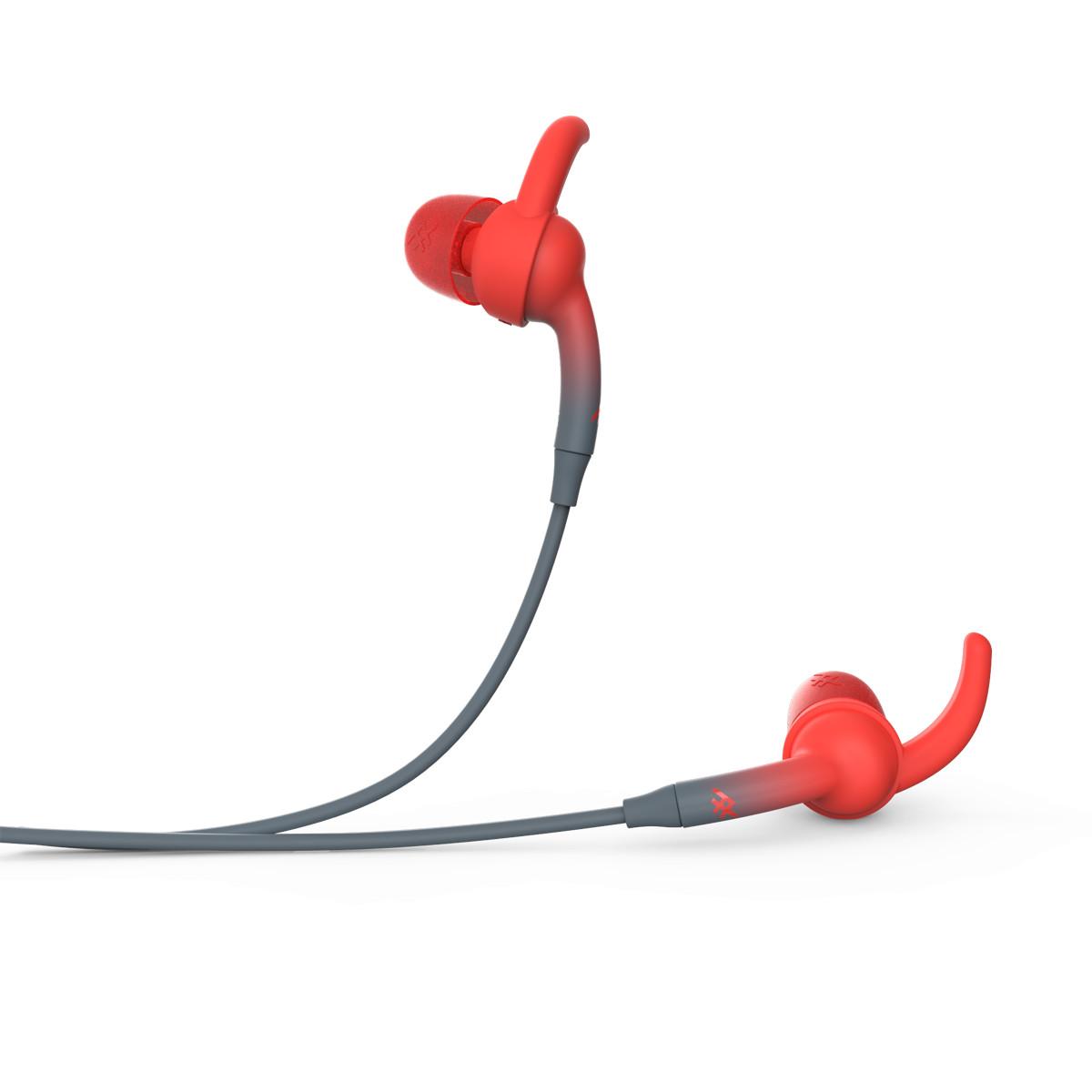 Tai nghe iFrogz không dây Sound Hub Plugz - Gray/Red - 304001823 - Hàng Chính Hãng
