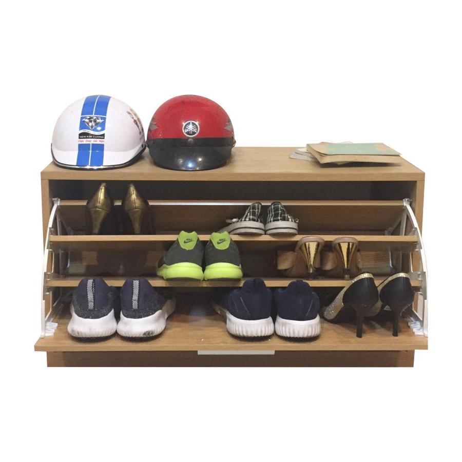 Tủ giày thông minh 1 tầng  (Vân gỗ)
