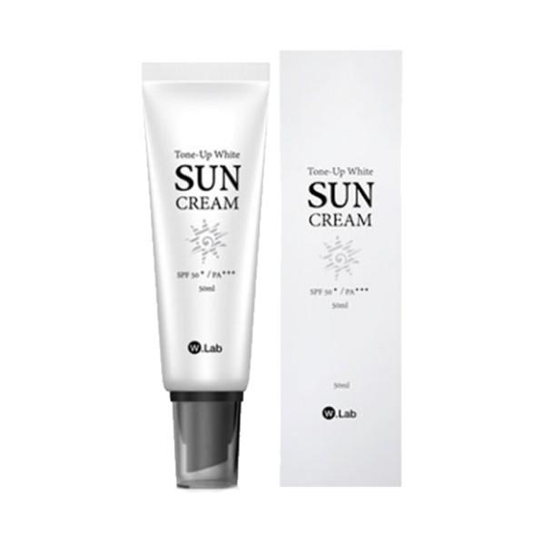 Kem Chống Nắng Dưỡng Trắng Da Tone-Up White Suncream SPF50 W.LAB Hàn Quốc