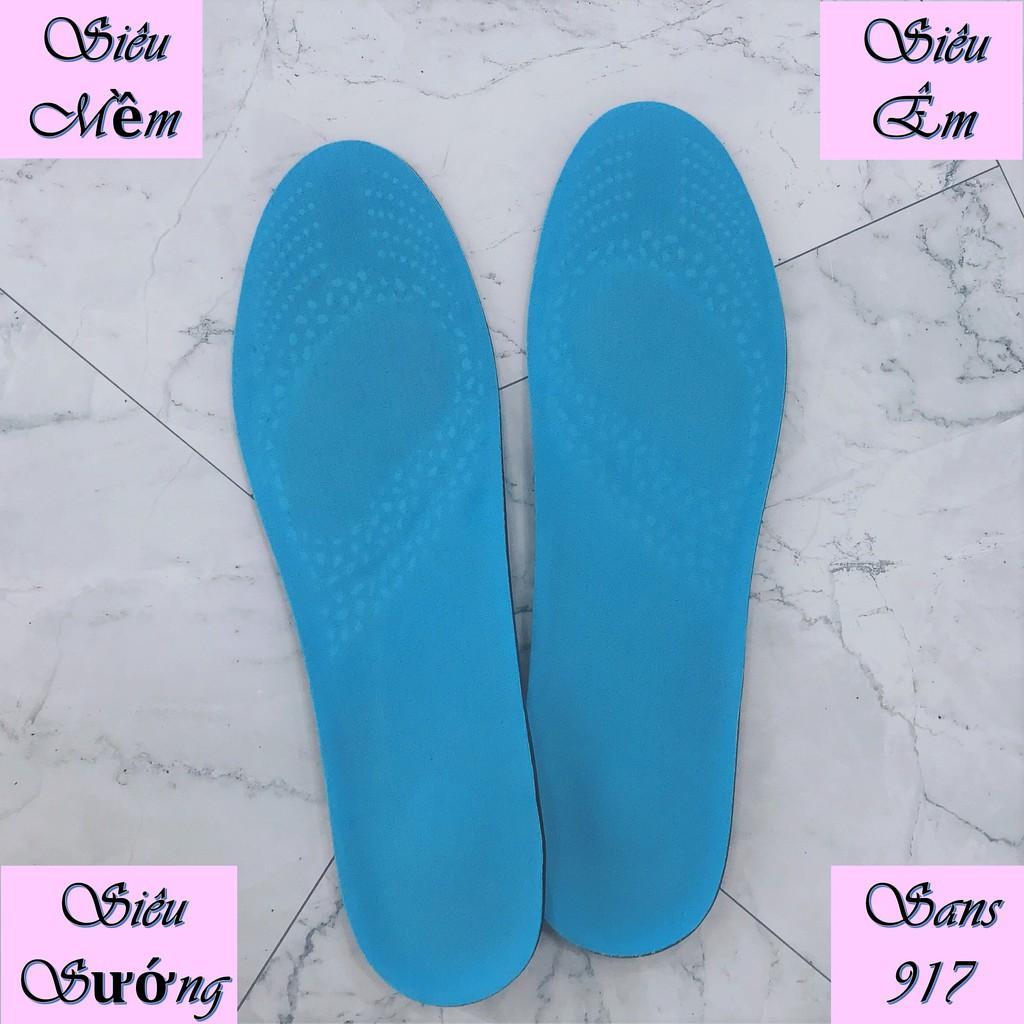 Lót Giày Silicon Siêu Cao Cấp Cặp Lót Giầy Êm Ái Sans917