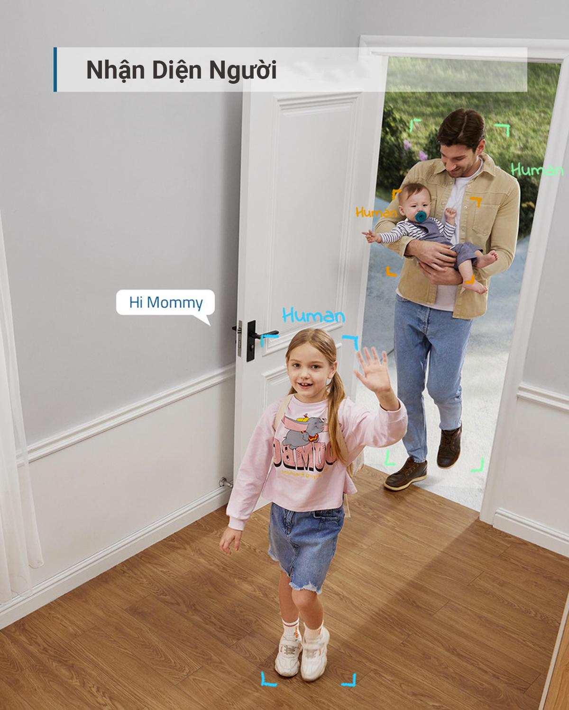 Camera Wifi Eufy Indoor 2k - T84001W1 - Hàng Chính Hãng
