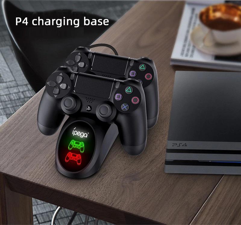 Dock sạc đôi cho tay cầm chơi game Ps4 IPEGA - Hàng nhập khẩu