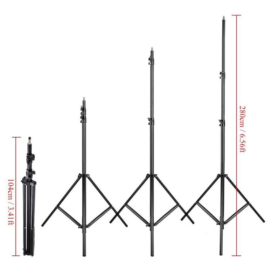 Chân đèn studio 2.6m YS260