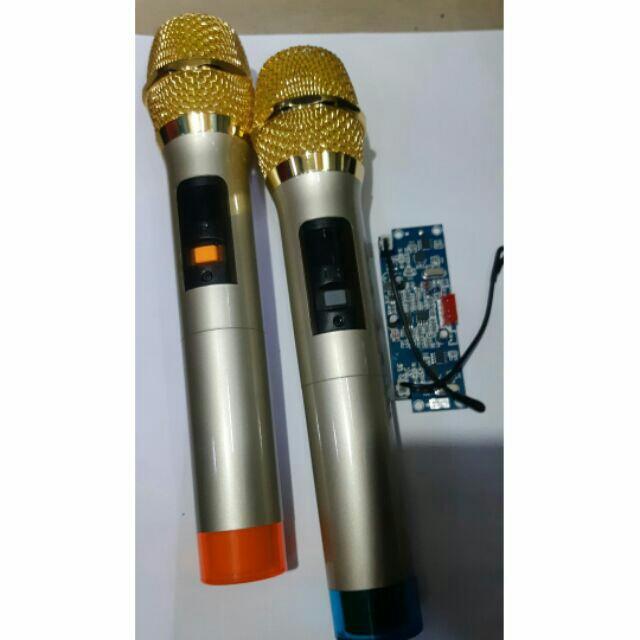 Micro không dây UHF cho loa kéo 1 bộ - Hàng Nhập Khẩu