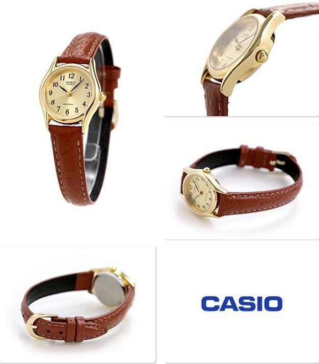 Đông hồ Casio Nữ - dây da - LTP-1094Q-9BRDF