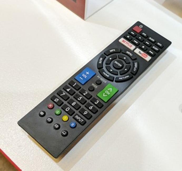 Điều khiển dùng cho  tivi SHARP Internet LCD-LED.