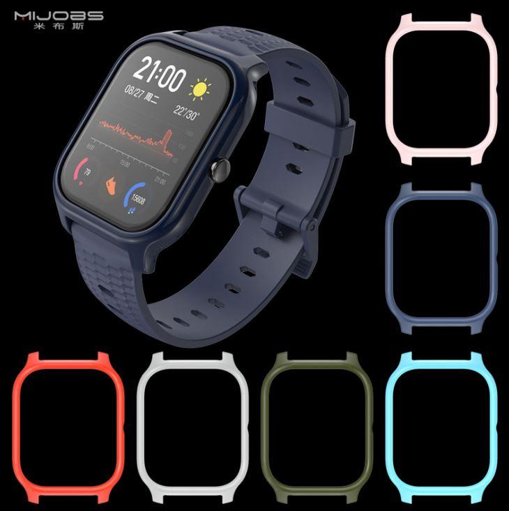Ốp silicon cho đồng hồ Amazfit GTS - chính hãng MIJOAS