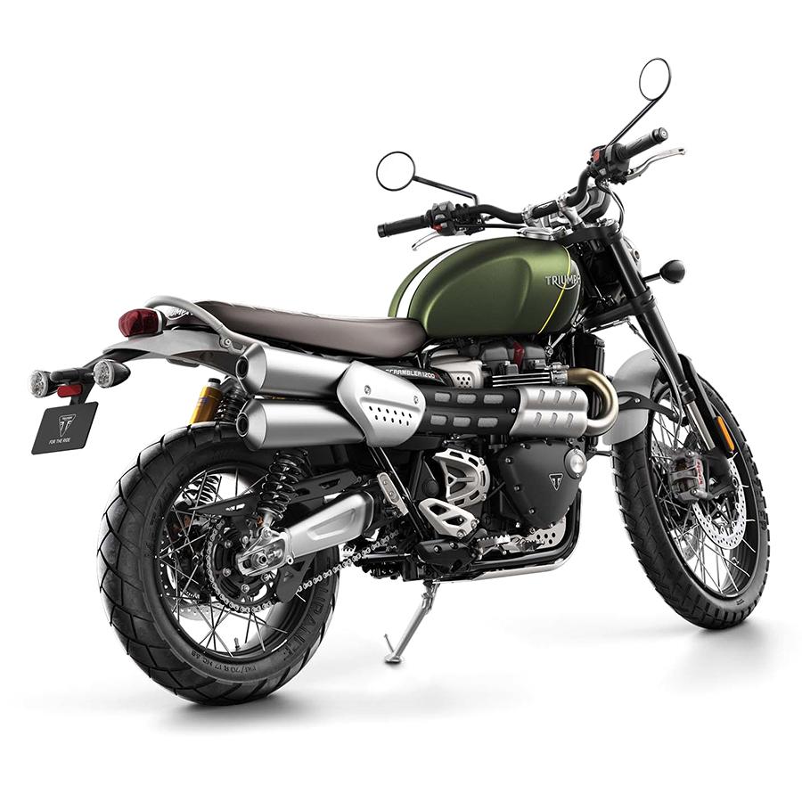 Xe Môtô Triumph Scrambler 1200 XC Xanh Rêu - Nhám