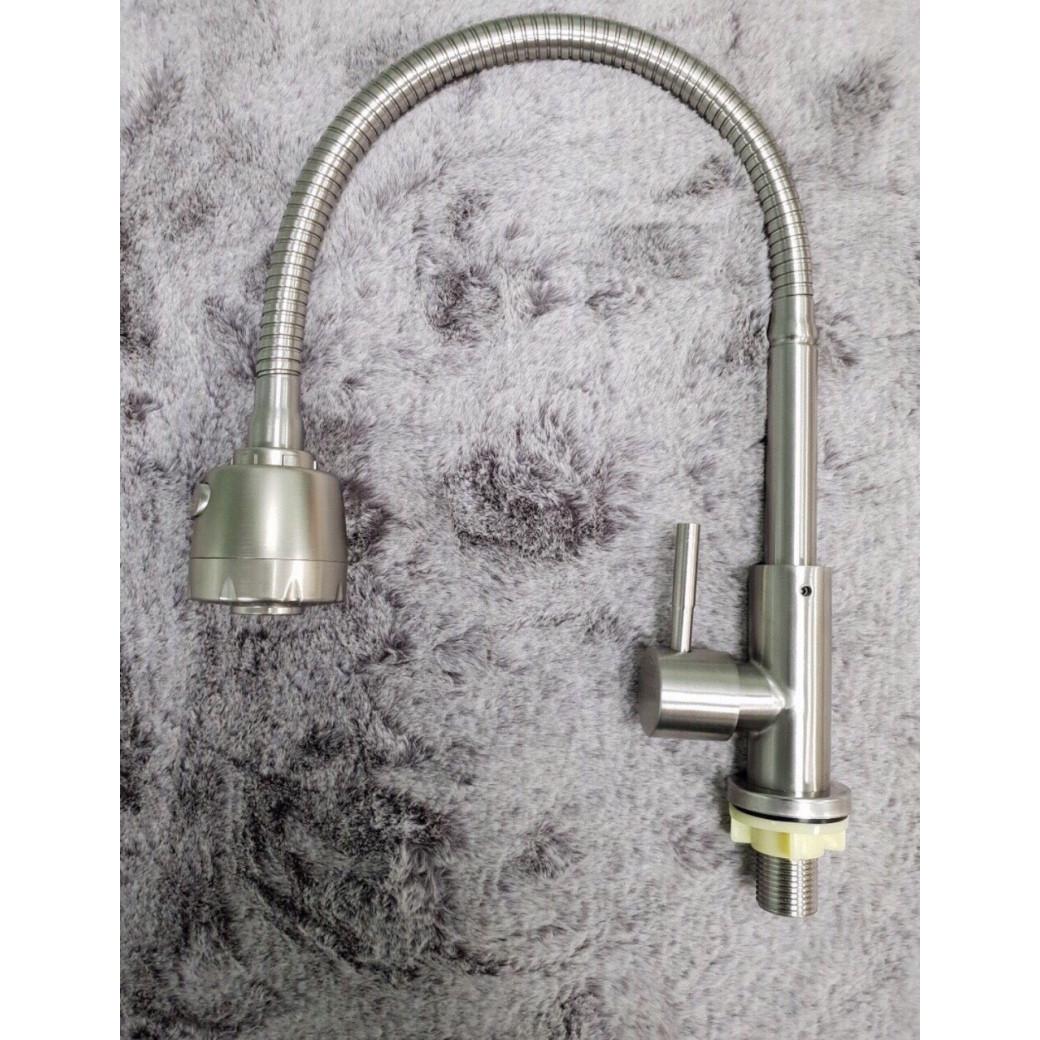 Vòi Nước Rửa Chén Inox 304 Cao Cấp 023