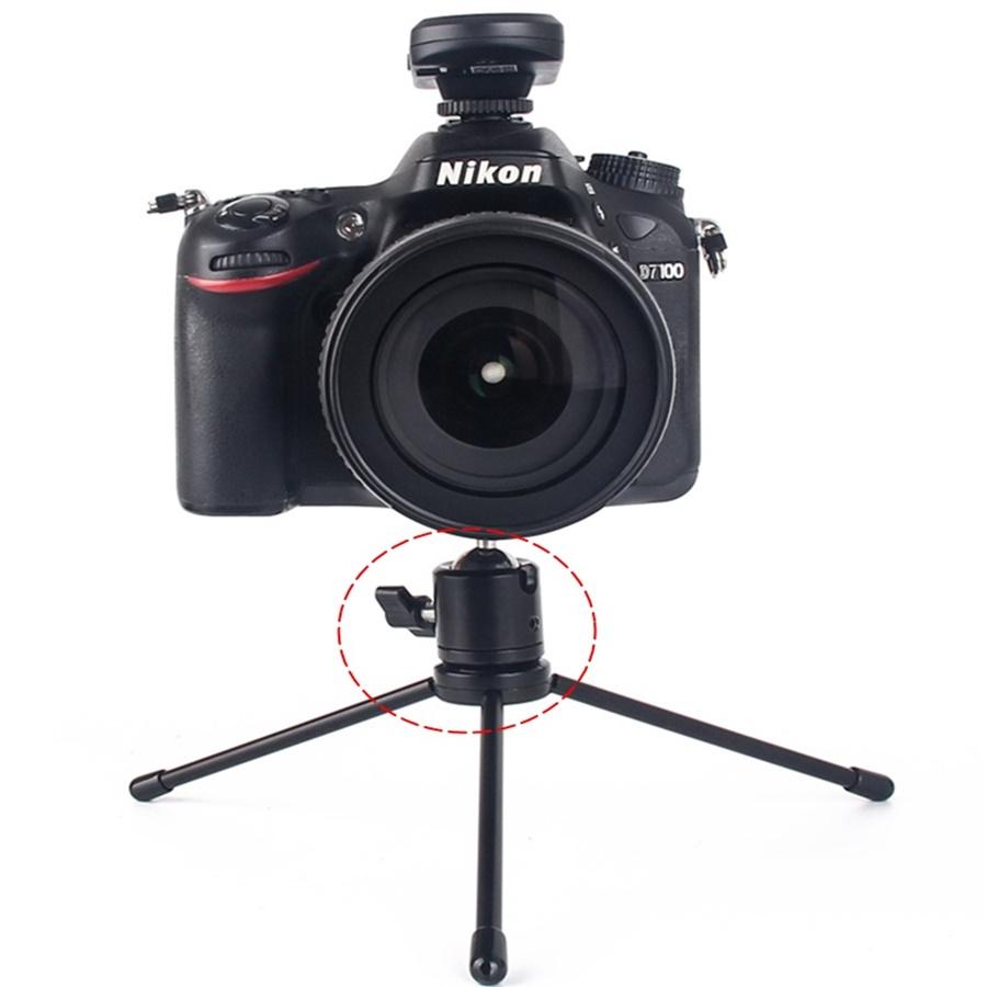 Chân nối mini xoay 360 độ cho máy ảnh, máy quay ama8