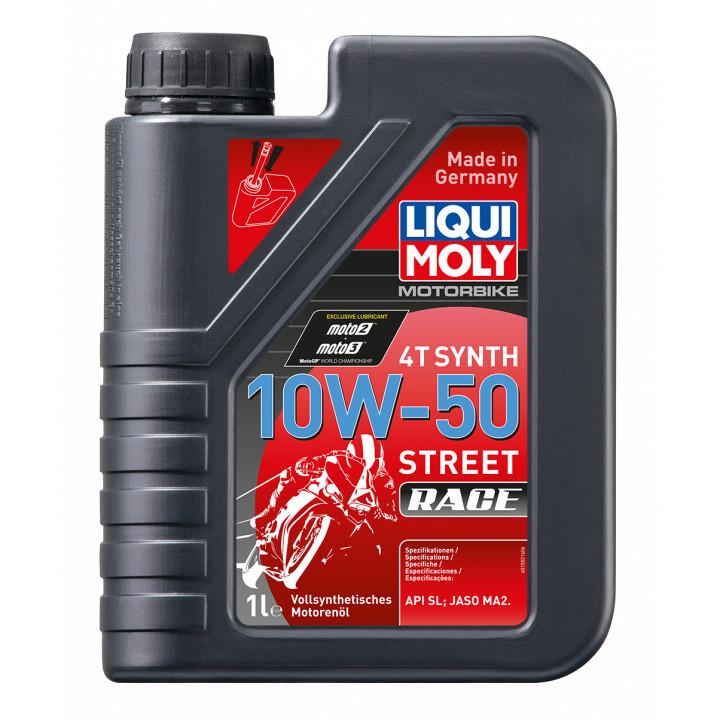 Nhớt Liqui Moly Motorbike Synth 4T 10W50 dành cho xe số
