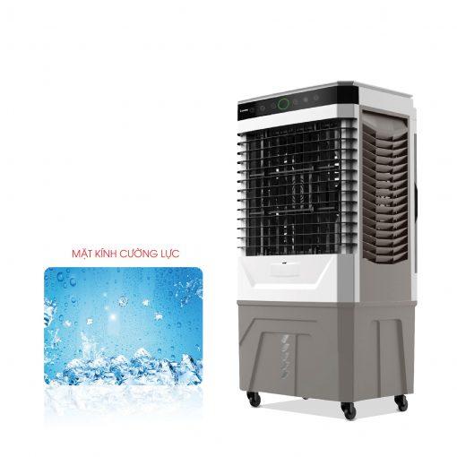 Quạt hơi nước, điều hòa kết hợp làm sạch không khí Rapido Everest 9000D (Cảm biến chất lượng không khí, Điều khiển cảm ứng + remote) - Hàng Chính Hãng