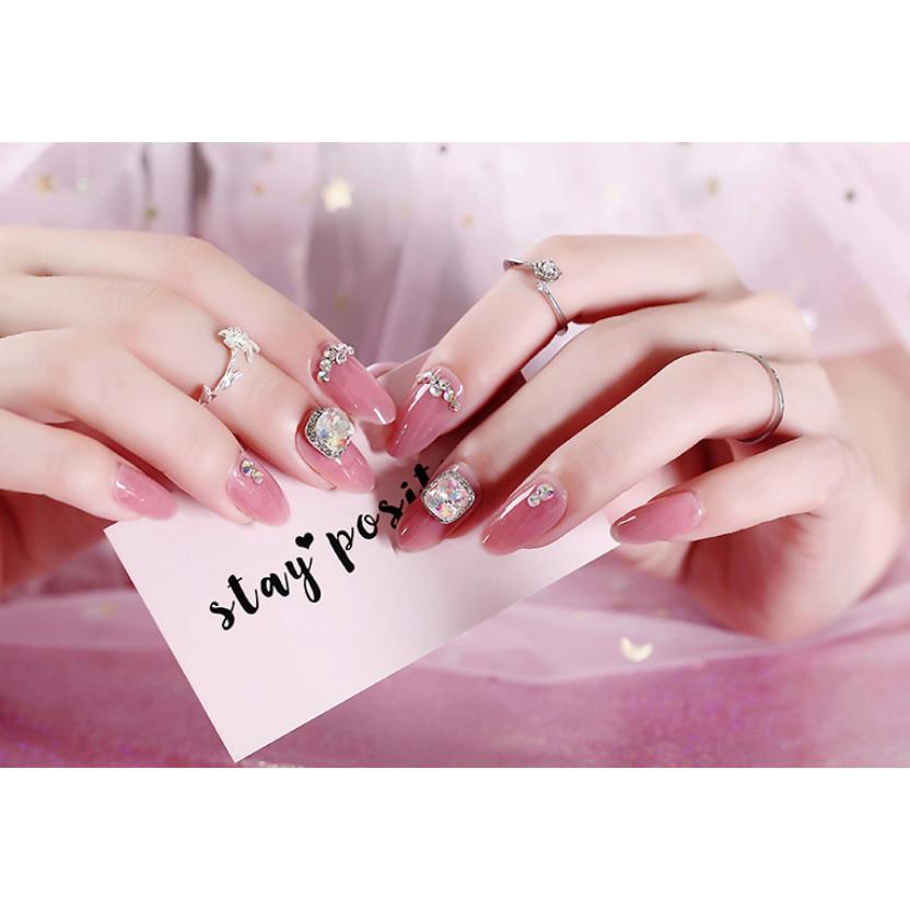 Bộ 24 móng tay giả nail thời trang (như hình-M277)