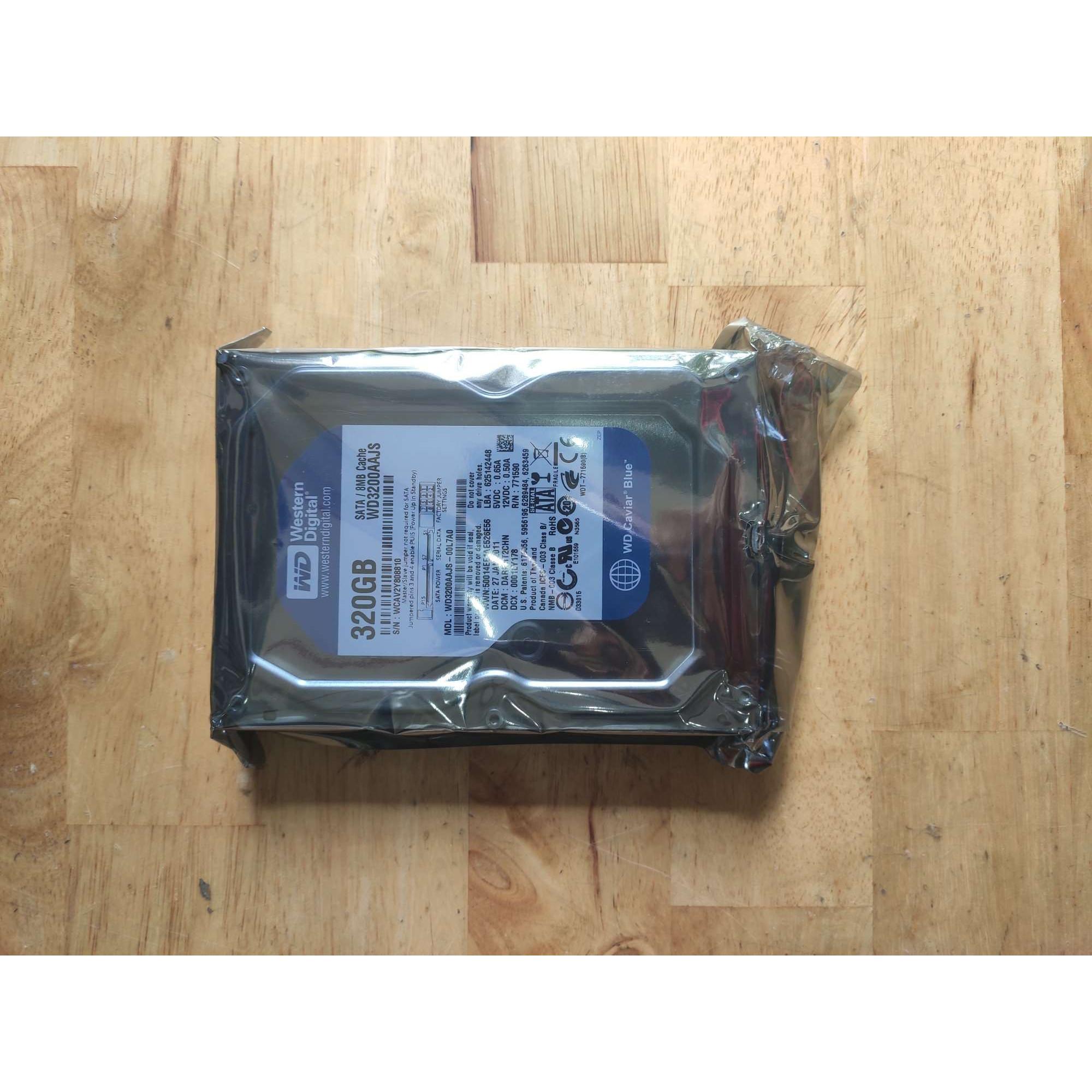 Ổ cứng HDD 320GB Western Digital Chính Hãng.